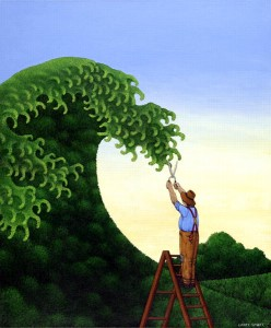 Topiary Wave
