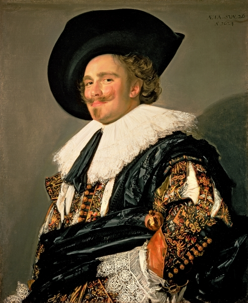 The Laughing Cavalier, 1624 (oil on canvas)