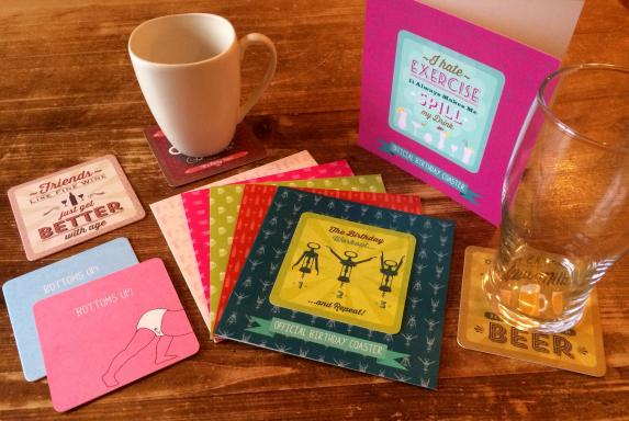 Coaster Cards by TheLondonStudio