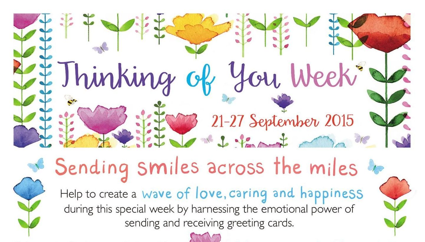 Looking Ahead To Thinking Of You Week Gifts Greetings Review