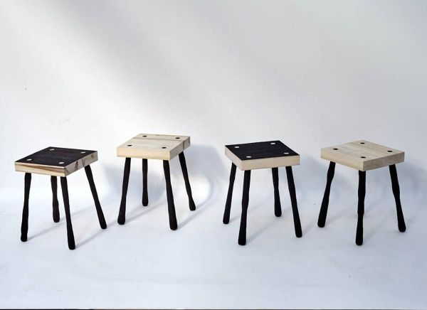 TURNER ASSEMBLE STOOLS small