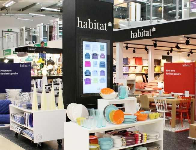 Habitat concession opens in sainsbury 39 s for Habitat outlet